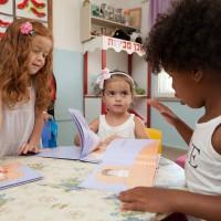 ילדי גן ויצו תלפיות מזרח קוראים ספרים