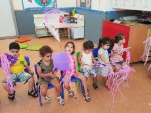 פעילות בעקבות מפלצת סגולה במעון אניטה אור יהודה