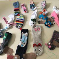 במעון נעמת עינב בשוהם הכינו גרבי ארנבים והילדים חיפשו את הזנבות