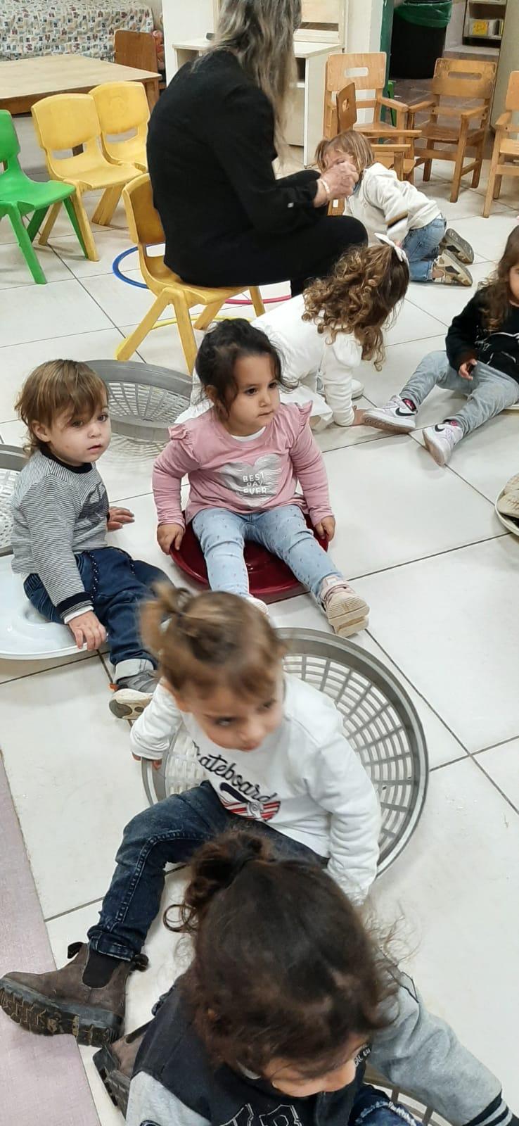 ילדי מעון ויצו בבית שאן חגגו